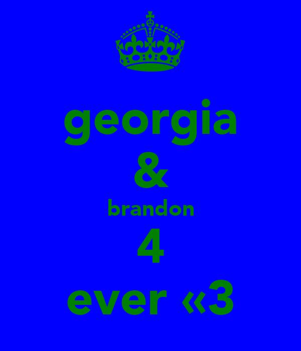 georgia & brandon 4 ever «3