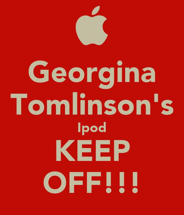 Georgina Tomlinson's Ipod KEEP OFF!!!