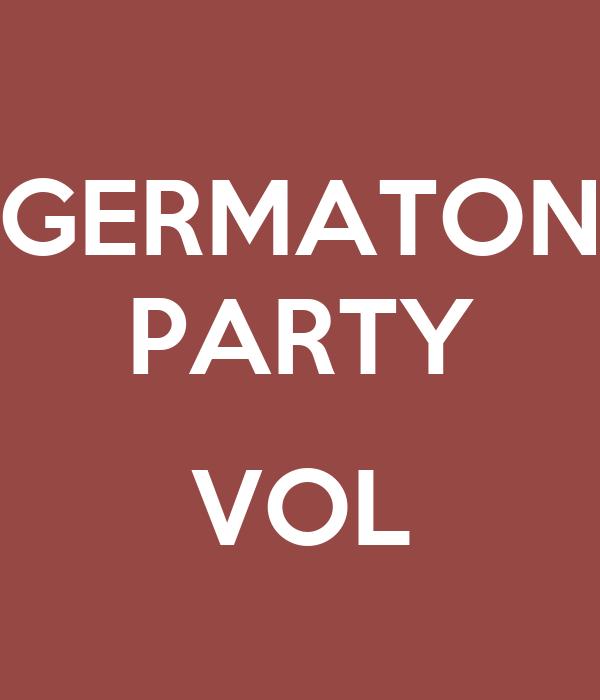 GERMATON PARTY  VOL