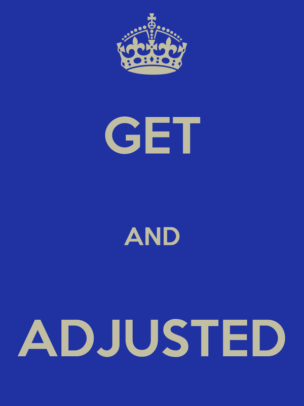 GET  AND  ADJUSTED