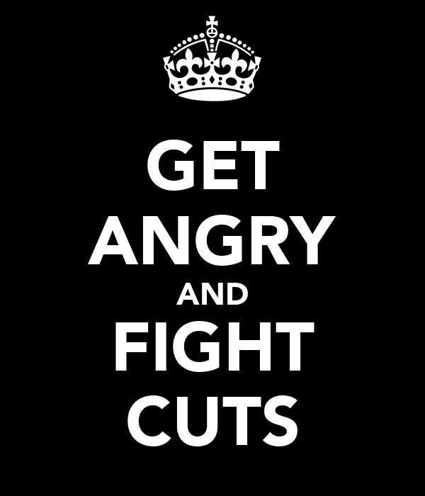 GET ANGRY AND FIGHT CUTS