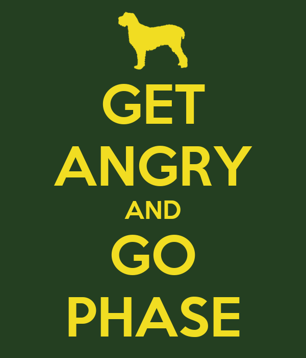 GET ANGRY AND GO PHASE