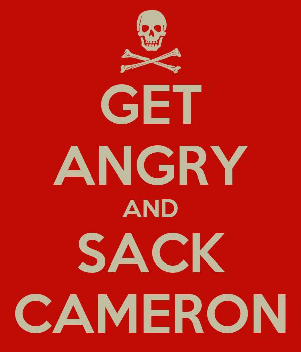 GET ANGRY AND SACK CAMERON