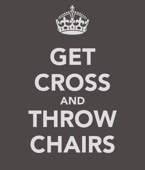 GET CROSS AND THROW CHAIRS