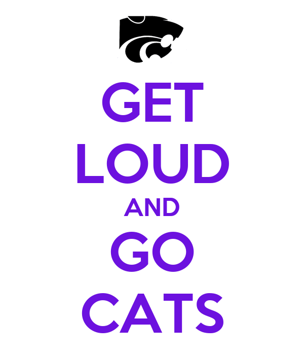 GET LOUD AND GO CATS