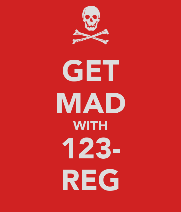 GET MAD WITH 123- REG