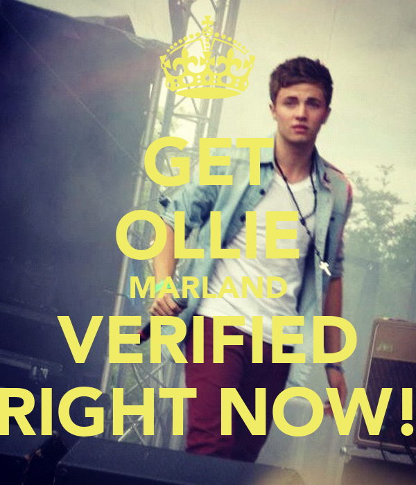 GET OLLIE MARLAND VERIFIED RIGHT NOW!