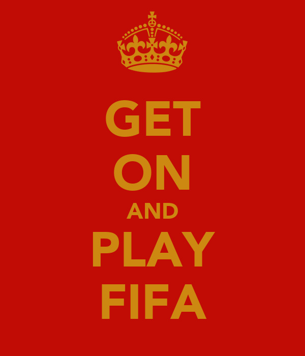 GET ON AND PLAY FIFA