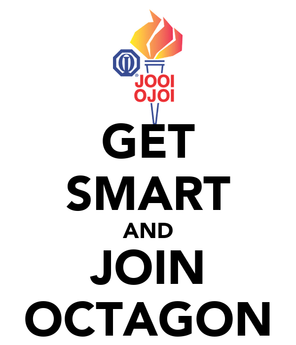 GET SMART AND JOIN OCTAGON