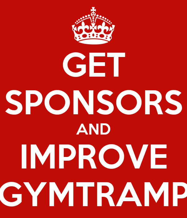 GET SPONSORS AND IMPROVE GYMTRAMP