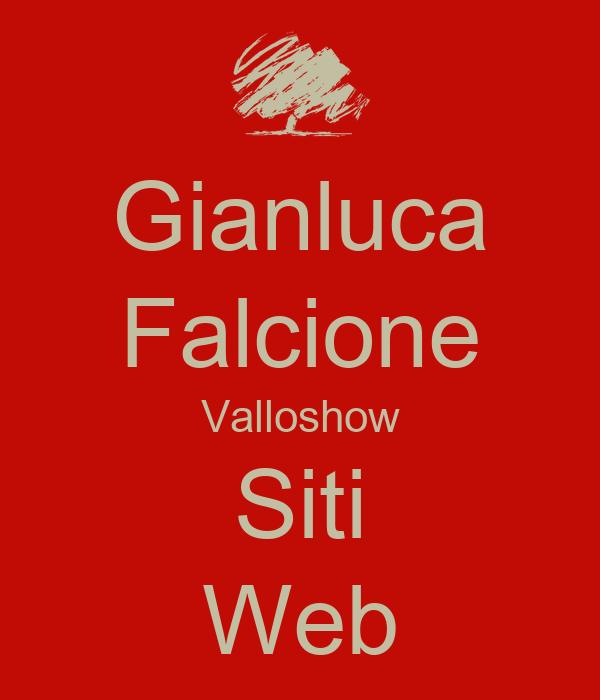 Gianluca Falcione Valloshow Siti Web