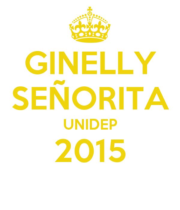 GINELLY SEÑORITA UNIDEP 2015
