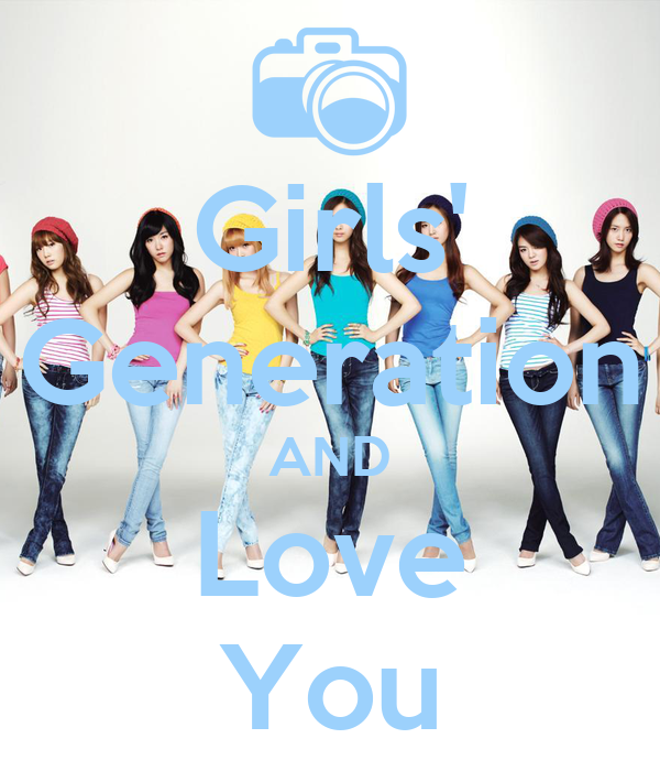 Girls' Generation AND Love You