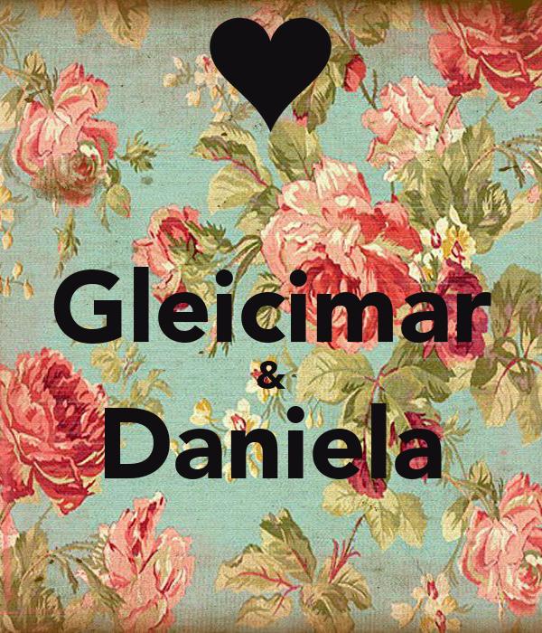 Gleicimar & Daniela