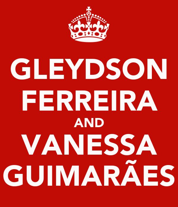 GLEYDSON FERREIRA AND VANESSA GUIMARÃES