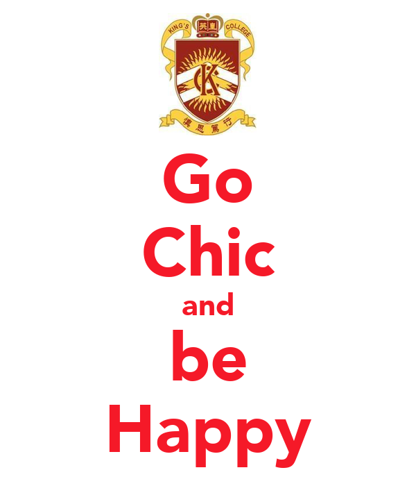 Go Chic and be Happy