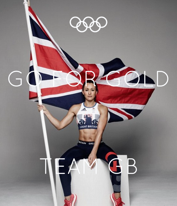 GO FOR GOLD    TEAM GB