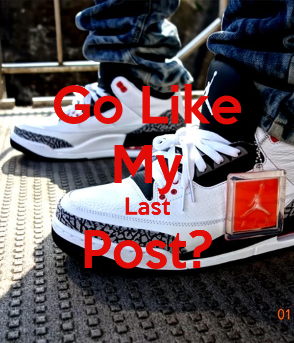 Go Like My Last Post?