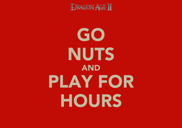 GO NUTS AND PLAY FOR HOURS