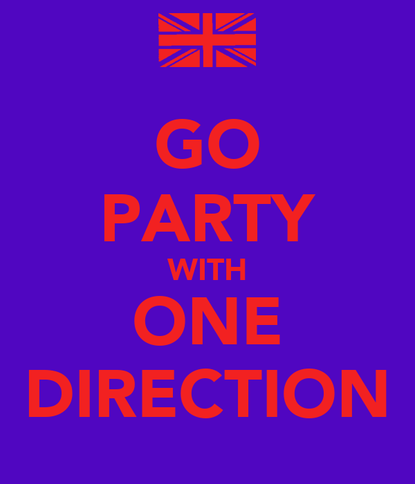 GO PARTY WITH ONE DIRECTION