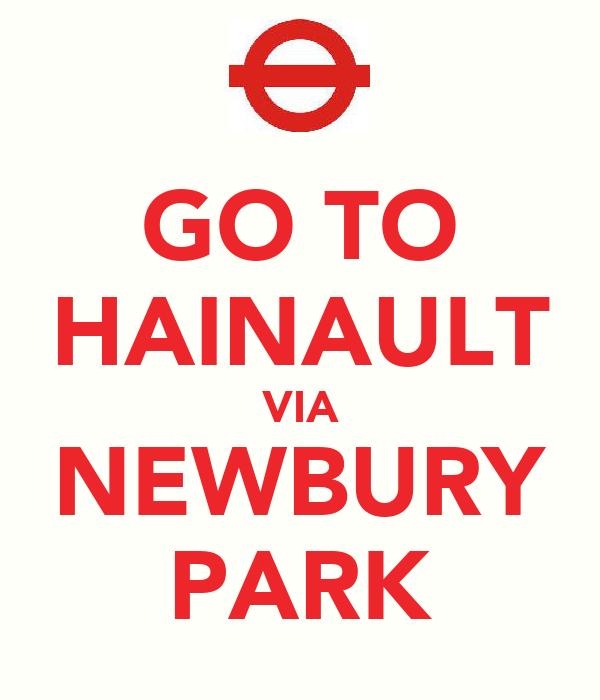 GO TO HAINAULT VIA NEWBURY PARK