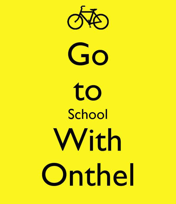 Go to School With Onthel