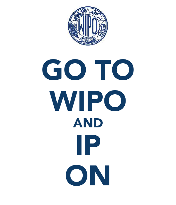 GO TO WIPO AND IP ON