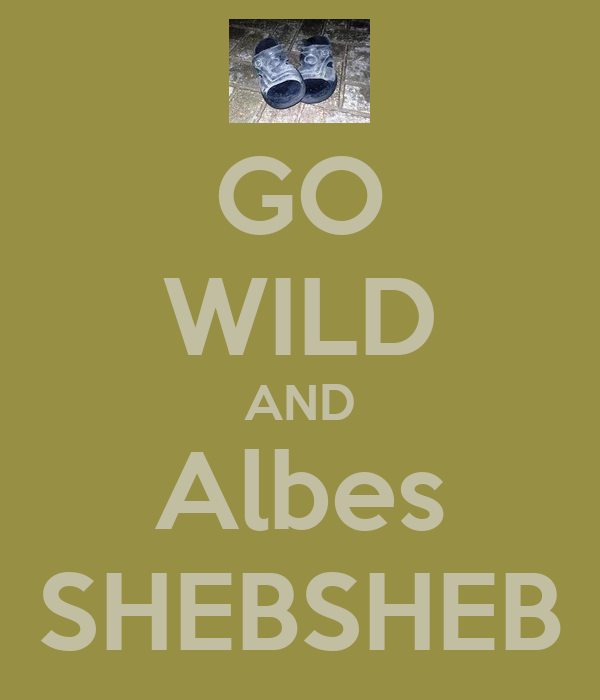 GO WILD AND Albes SHEBSHEB