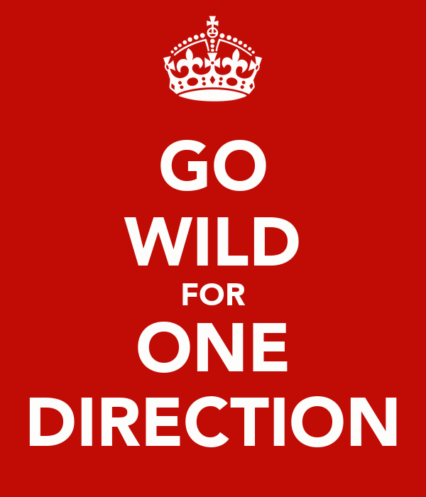 GO WILD FOR ONE DIRECTION