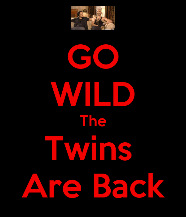 GO WILD The Twins  Are Back