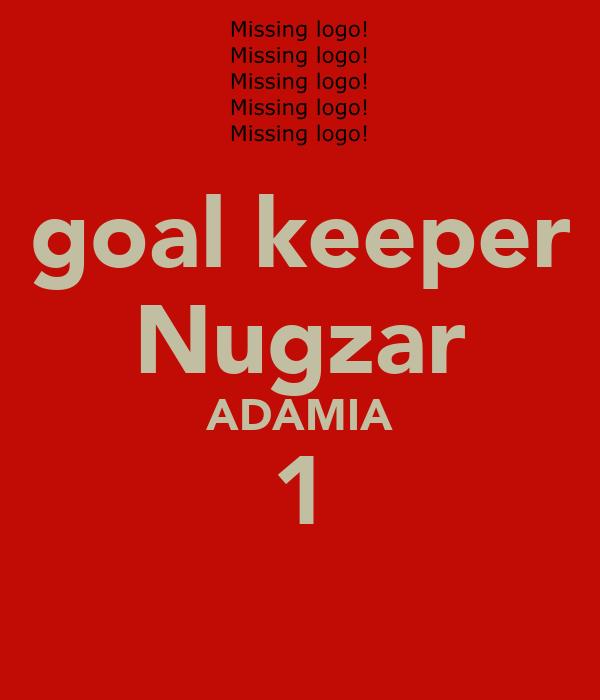 goal keeper Nugzar ADAMIA 1