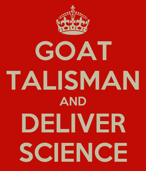 GOAT TALISMAN AND DELIVER SCIENCE