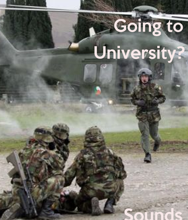 Going to  University?             Sounds      Stressful