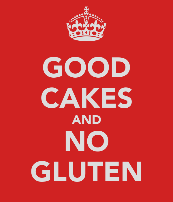 GOOD CAKES AND NO GLUTEN