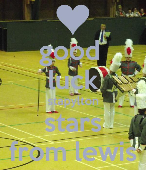 good  luck stapylton stars from lewis