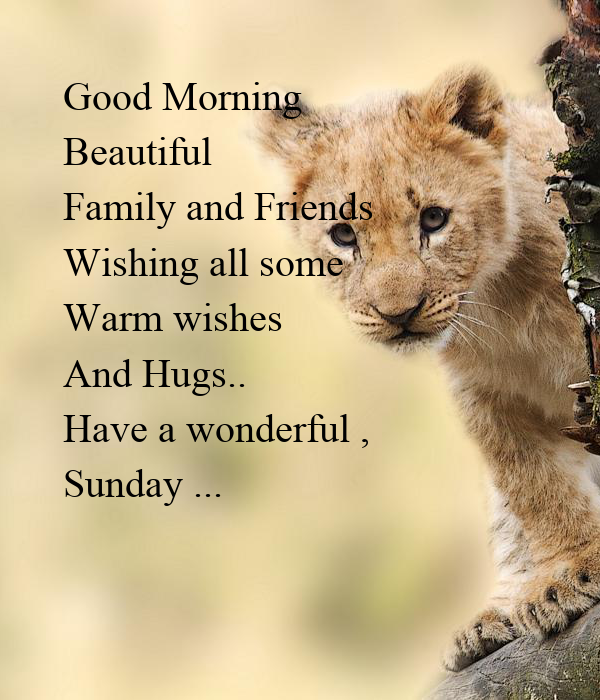 Good Morning Beautiful Family And Friends Wishing All Some Warm