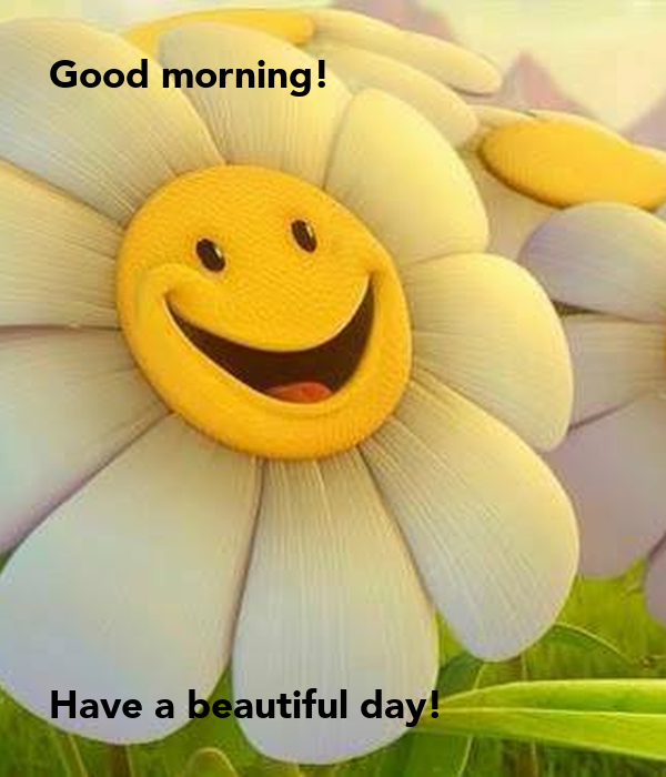 Good Morning Have A Beautiful Day Poster Bonika Keep Calm O Matic