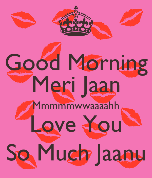 Good Morning I Love You So Much Good Morning Me...