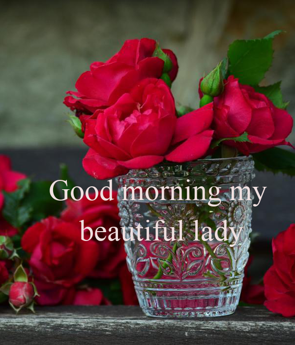 Good Morning Lady German : Good morning my beautiful lady poster sladen keep calm