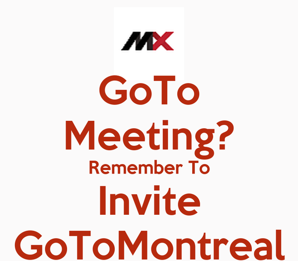 goto meetings The latest tweets from gotomeeting (@gotomeeting) extremely simple, extraordinarily powerful web conferencing service providing support m-f 9-5 pst by @logmein.