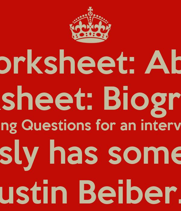 Grade 5 English worksheet: About Justin Beiber. Grade 6 English ...