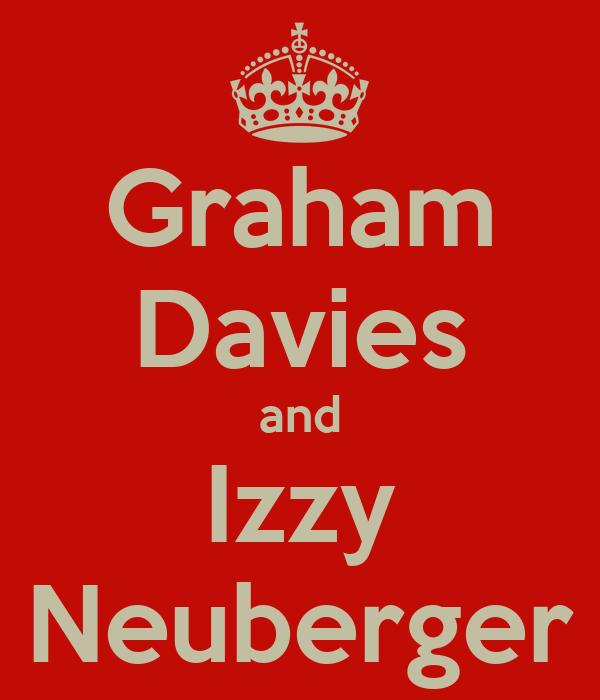 Graham Davies and Izzy Neuberger