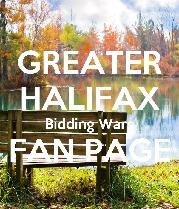 GREATER HALIFAX Bidding Wars FAN PAGE