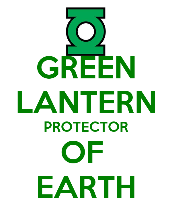 GREEN LANTERN PROTECTOR OF  EARTH