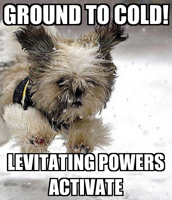GROUND TO COLD! LEVITATING POWERS ACTIVATE
