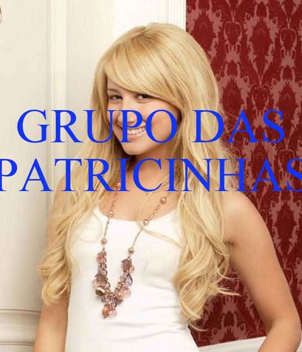 GRUPO DAS PATRICINHAS