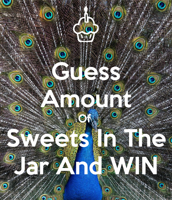 Guess Amount Of  Sweets In The Jar And WIN