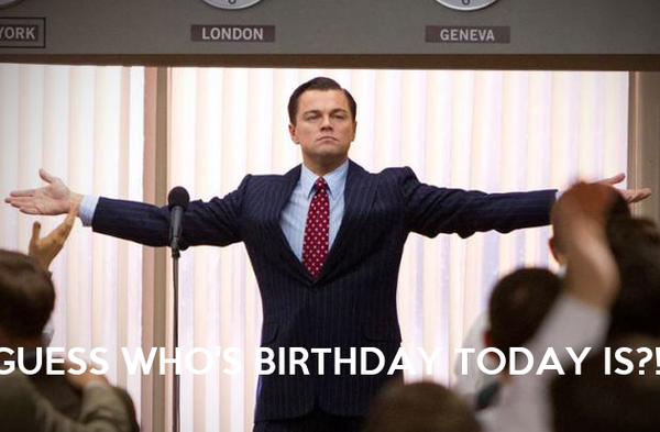 who has a birthday today GUESS WHO'S BIRTHDAY TODAY IS?! Poster | Emre | Keep Calm o Matic who has a birthday today