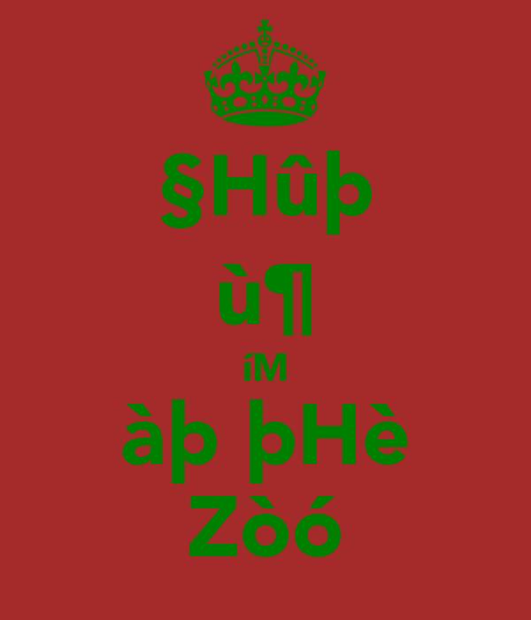§Hûþ ù¶ íM àþ þHè Zòó