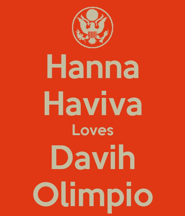 Hanna Haviva Loves Davih Olimpio